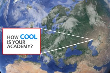 Your university as one of the coolest?