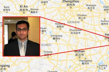 New correspondent: Saad Ahmed Javed from Nanjing, China